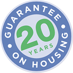 MasoSine 20 Year Housing Warranty Logo