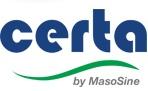 MasoSine CERTA Pump Logo