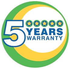 Watson Marlow's 5 Year Warranty